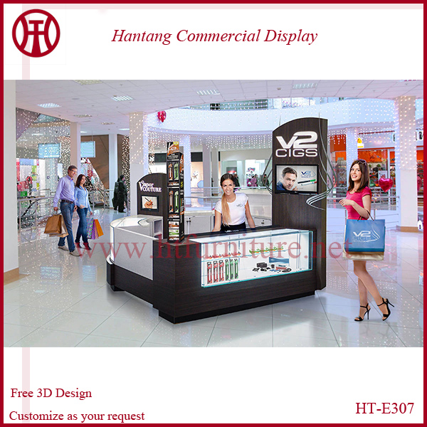 Discount Mall electronic accessories display showcase