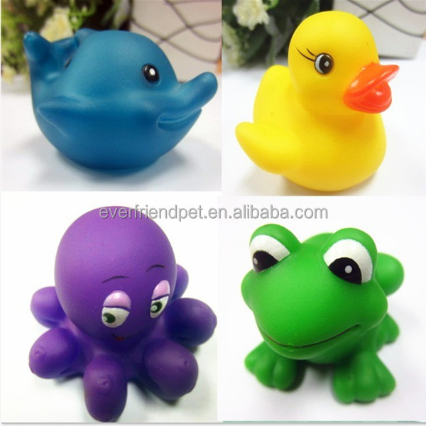 2015 New! Best Quality Bath Toy Animal Set