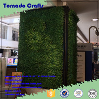 Best quality indoor foliage plant artificial landscaping vertical green plant wall / artificial palnt wall panel