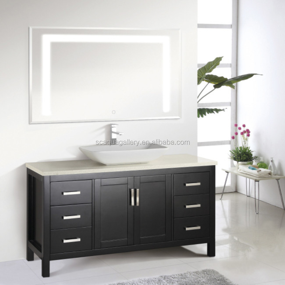 Stylish Quartz Counter Used Cabinets Bathroom Vanities For Sale