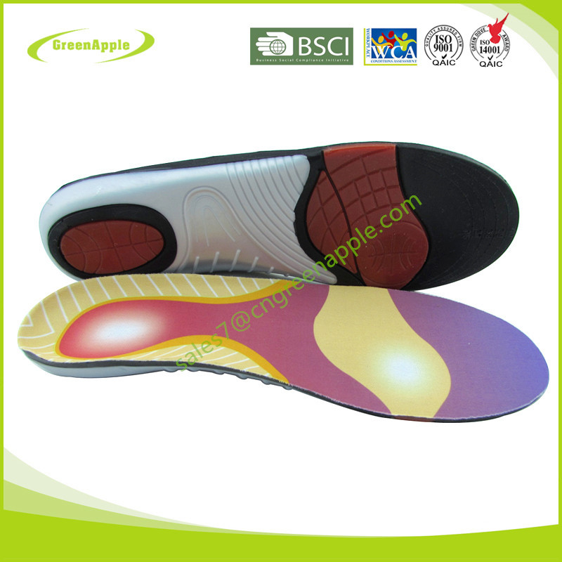 Wenzhou Houseware PU Gel Metatarsal Heel Cushion Work Fit Orthotic Polyurethane Arch Support Insoles