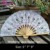 5'' 7'' 9'' Assorted Size Birthday or Bridal Party Wedding Gifts Hand Fan Embroidery Lace Fan Favors