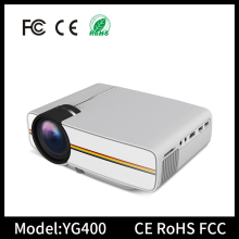 YG400 HD1080P home 1000 lumens mini led projector low price mini led projector