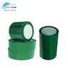Thermal Insulation Adhesive Tape PET High Temperature Green Polyester Silicone Adhesive Tape,Adhesive Tape,Polyester Tape
