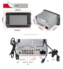2 Din Car DVD Player for Volkswagen Android 4.4.4 OS RADIO+WIFI/3G+Torque OBD2+CANBUS+GPS+BT+AUX in/out+USB/SD+Two USB+SWC Playe