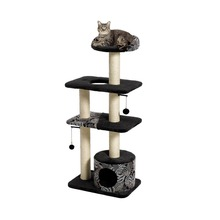 Four Cat Tree Wooden