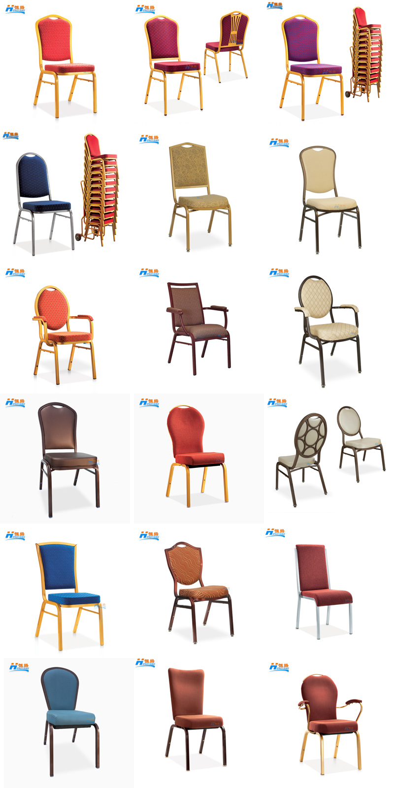 rental stacking cheap price steel wholesale hotel banquet chair