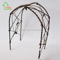 Miniatures Furniture Wrought Wire Iron Rustic Arch Door