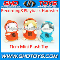hot:Best sale plush talking hamster!recording,repeating and talking hamster toys