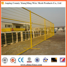 Best Price 6x10ft Canada Color Coated Temporary Fence/Portable Metal Fence Panels (Manufacture) ISO9001