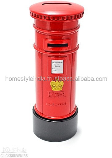Very Beautiful red colour wholesale Letter Box, New design and shape High Quality Letter Box