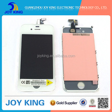 Chinese workable phones spare parts screen for iphone 4s lcd complete