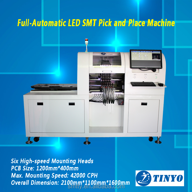 automatic LED pick and place machine smt production line pick and place
