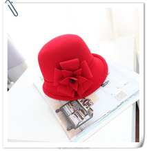 Custom Hats For Women Wholesale China Winter Wool Felt Cloche Lady Hat