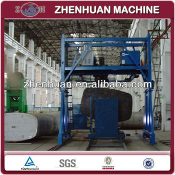 Automatic tank welding machine for LPG tank