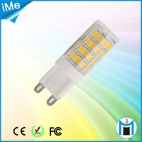 AC110V/AC220V PF0.6 customers requirement super bright led g9 bulb led lamp