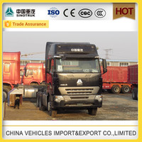 howo truk head hot sale faw 420hp tractor truck in china
