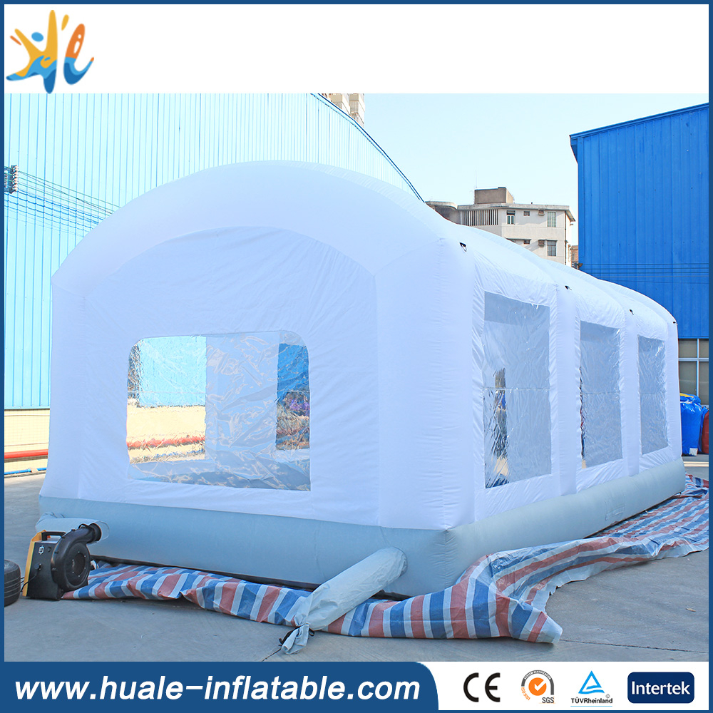 Factory price inflatable spray booth, used car spray booth for sale