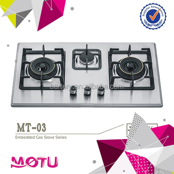 3 burners Stainless Steel Stove