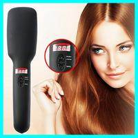 Hair Straightening Comb/Brush New Brand fast hair straightener brush LCD Display fast Hair Straightener