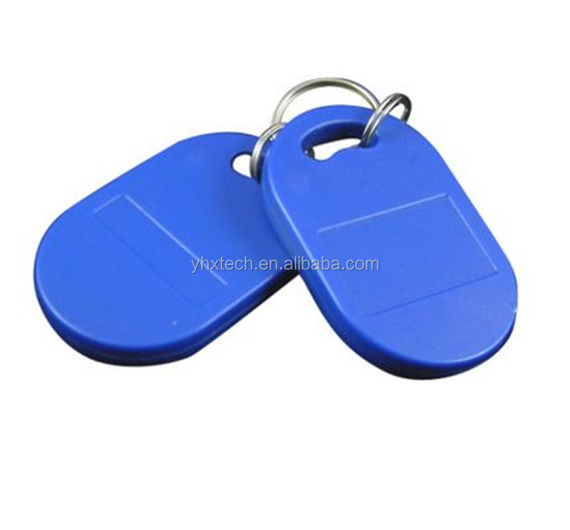 Professional Manufacturer High Quality 125Khz 13.56MHz Grey RFID Key Fobs