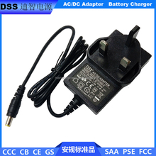 Universal BS Plug 12V charger 12.6V 1A li-ion battery charger