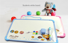 Plastic Magnetic Drawing Board Sketch Sketcher Writing Painting Craft For Kids Children Multi Color