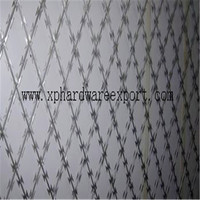 FACTORY WHOLESALE HOT DIPPEDANPING MESH RAZOR BARBED WIRE ELECTRIC RAZOR BARBED WIRE MESH BEST PRICE