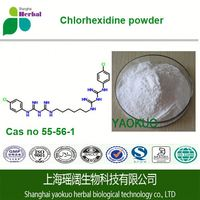 High quality 99% EP/JP/BP/USP Chlorhexidine CAS NO 55-56-1