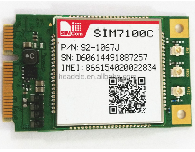 M2M products modules SIMCom original wireless 4g modules SIM7100C-SMT