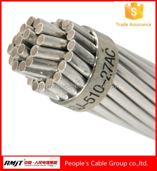 Best selling manufacturer price Aluminum Clad Steel Strand Wire