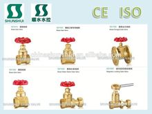 SS1010 Brass Gate Valve heavy duty export to India