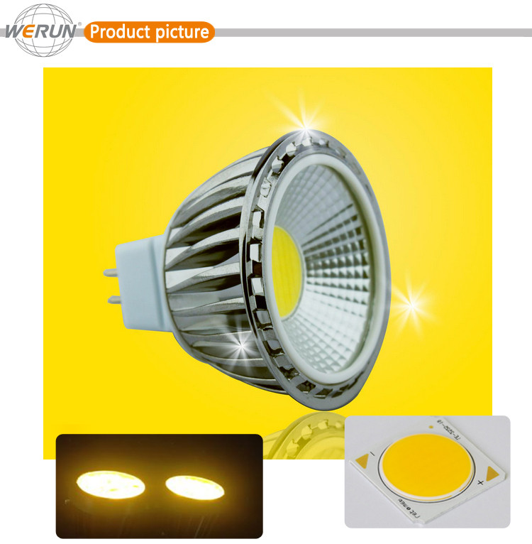 high bright indoor MR16 led spot light