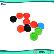 Custom silicone used beer saver reusable silicone bottle cap