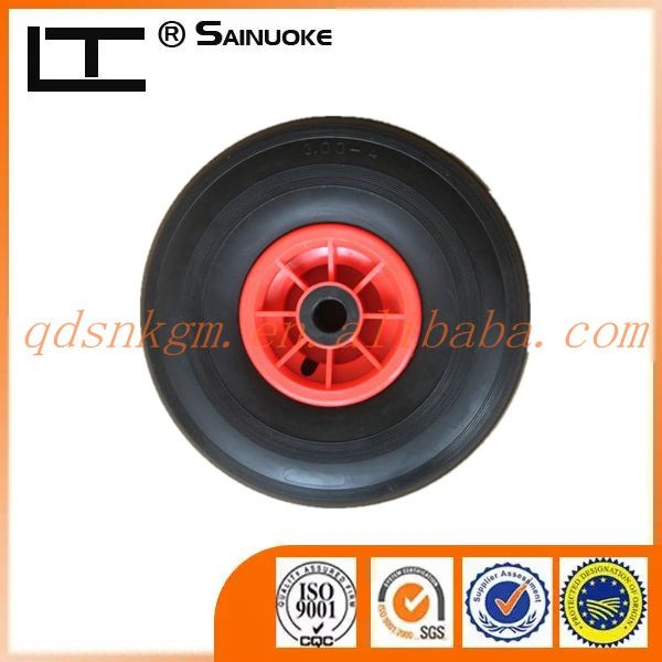 10x3.00-4 Polyurethane Puncture Free Trolley Wheel