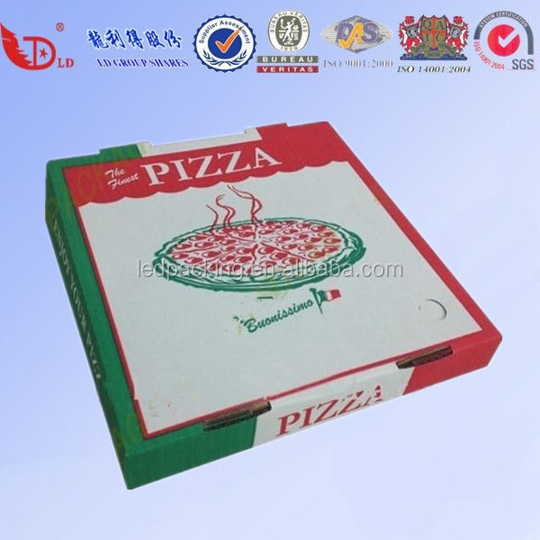 Aluminum Foil Pizza Box Thermal Food Box Pack Solution for Temp Control pizza box