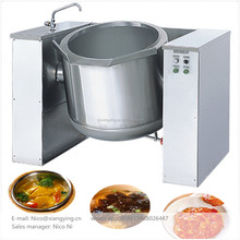 XYQGZ-H150 Steam jacketed boiler 150L soup sauce boiling kettle food cooking tank machine for restaurant kitchen
