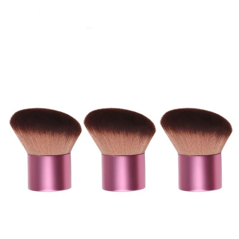 Factory hot sale synthetic kabuki brush private label powder makeup brush beauty foundation cosmetic brush