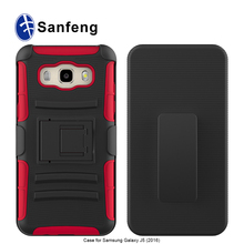 Sample Free Belt clip Holster Cover Shockproof Defend Cell Phone case for Samsung galaxy j5(2016)/J510 phone cover