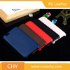 New arrival premium pu leather skin back cover pc cell phone case for iphone 6