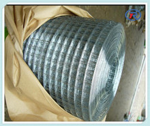 HIGH QUALITY 1/2 INCH GALVANIZED WELDED WIRE MESH