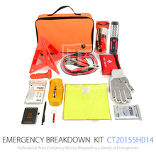China Good Oxford cloth car accessories auto emergency kit and roadside emergency