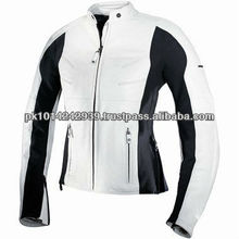 2013 Genuene Leather Women motor bike fasion jacket