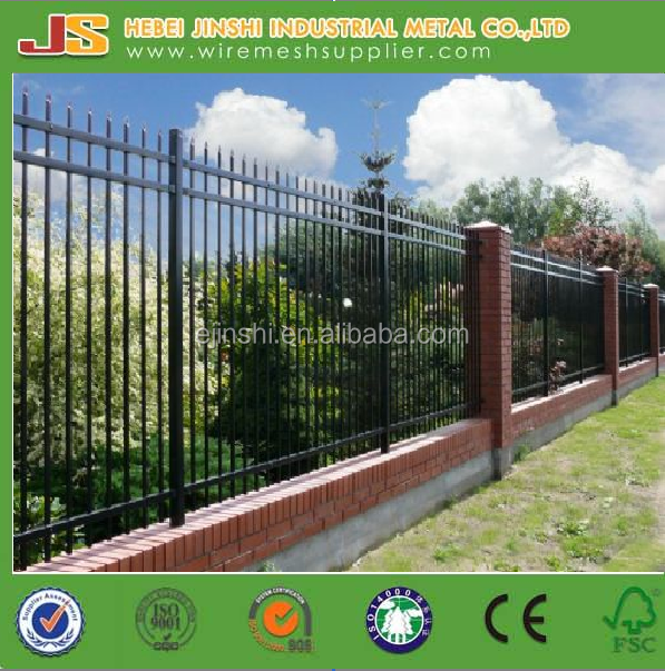 Australia black decorative wrought iron fence