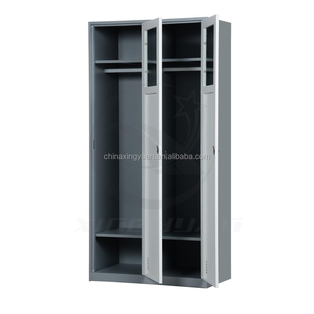 2 Door Wardrobe Cabinet Storage Bedroom Closet Furniture Steel Clothes Organizer Buy Bedroom