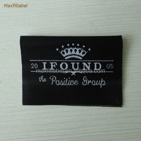 Custom high quality high definition Woven Label clothing labels