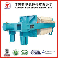 Plate and Frame Filter Press Machine in Filter Press Equipment