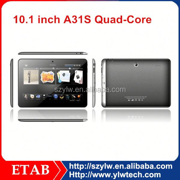 Quad core A31S CPU,IPS1280*800 screen,<strong>10</strong> inch 2gb ram 32gb tablet pc