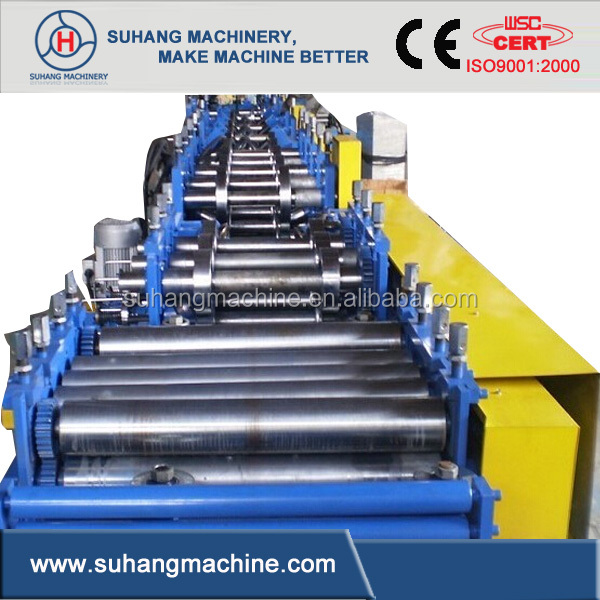 Hot Sale! CE&ISO Certificated High Speed Fully Automatic C Z Purlin Roll Forming Machine