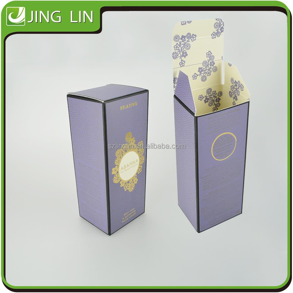 Cosmetics packaging paper boxes wholesale